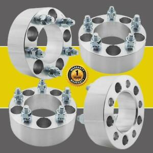 4 2 Wheel Spacers Adapters 5x114 3 For Jeep Liberty Ford Edge Explorer 1 2 x20