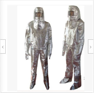 Thermal Radiation 1000 Degree Heat Resistant Aluminized Suit Fireproof Cloth My
