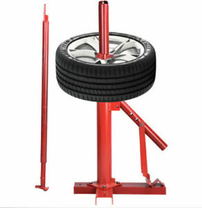 Manual Portable Hand Tire Changer Bead Breaker Tool Auto Tire Tools Red