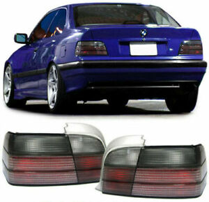 Bmw E36 Coupe Convertible All Smoked Tail Lights 1990 1999 Model