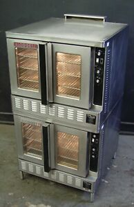 Blodgett Dfg 200 Commercial Dual Flow Natural Gas Convection Oven Double Stack