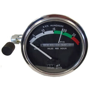 White Needle Tachometer For John Deere 3010 4000 4010 4020 4320 4520 5010 6030