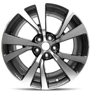 Set Of 4 Aluminum Alloy Wheel Rim 18 Inch Fits 16 19 Nissan Maxima 5 Lug 114 3mm