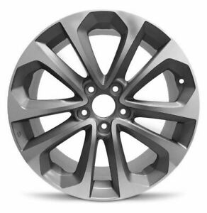 Set Of 4 Aluminum Alloy Wheel Rim 18 Inch 13 15 Accord 5 Lug 114 3mm 10 Spokes