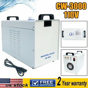 110v Cw 3000 Industrial Water Chiller For Cnc Laser Engraver Engraving Machines