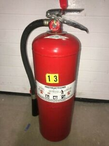 Halon Fire Exstinguisher Not Charged 15 Lb