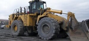 2009 Cat 992k High Lift Wheel Loader High Lift Arrangement 15 Yard Gp Bucket