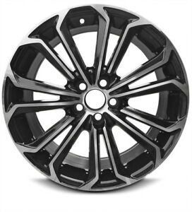 4 Aluminum Alloy Wheel Rims 17 Inch 5 Lug 14 Spoke Fits 14 16 Toyota Corolla Set