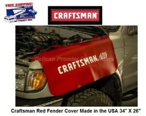 Craftsman Red Fender Cover Made In The Usa 34 X 26 Cmmt14184