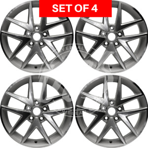 New Four 17 Replacement Alloy Silver Wheel Rim Fits Ford Fusion 2010 2011 2012