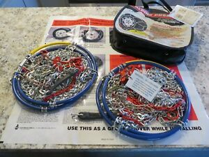 Les Schwab Quick Fit Alpine Tire Chains Model 1540