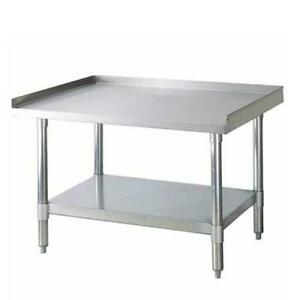 Turbo Air Tse 3048 30 In X 48 In Stainless Steel Equipment Stand
