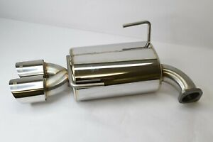 New Cobb Ss Stainless Steel Driver Side Muffler Only For Subaru Sti Wrx