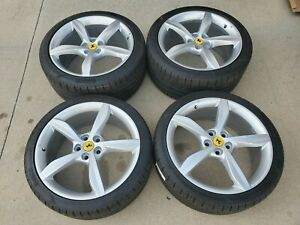 20 Ferrari Portofino California Oem Factory Wheels Rims Pirelli Tires