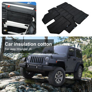 Headliner Hardtop Insulation Roof Insulation Cotton For Jeep Wrangler 2007 10 Jk