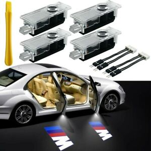 Car Door Led Logo Light Projector Ghost Shadow Lights Bmw M3 Symbol Emblem