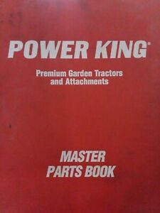 Power King Economy Jim Dandy Tractor 1200 Series Sec 8 Chassis Parts Manual