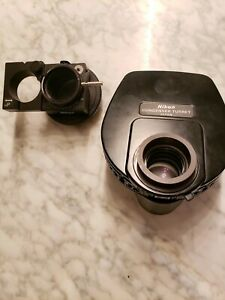 Nikon Te200 Inverted Microscope Dic Phase Contrast Condenser And Polarizer