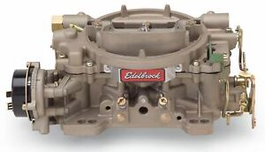 Edelbrock Marine Series 750 Cfm Carburetor With Electric Choke non egr