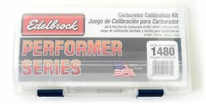 Edelbrock Performer Calibration Kit For 1407 1410 1412 1413 Carburetors