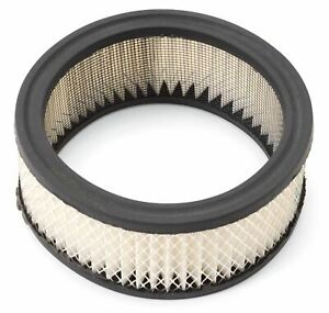 Edelbrockpaper Air Filter Element For Elite 6 3 8 Round Air Cleaners