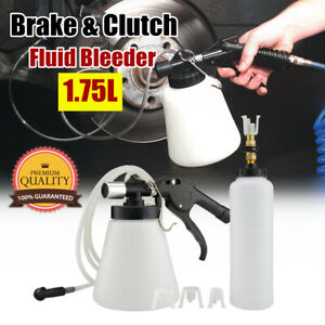 1 75l Pneumatic Brake Fluid Bleeder Car Air Extractor Clutch Oil Bleeding Tool