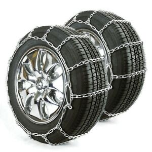 Titan Passenger Link Tire Chains Snow Or Ice Covered Road 5mm 235 75 15