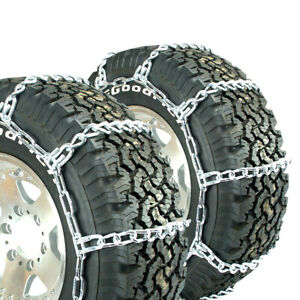 Titan Hd Mud Service Light Truck Link Tire Chains Offroad Mud 8mm 285 70 16