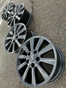 20 Lexus Lx470 Lx570 Gloss Black Tundra Sequoia Oem Factory Stock Wheels Rims
