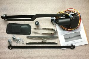 Newport 1937 1938 Chevy Gmc Truck 12v Electric Clean Windshield Wiper System