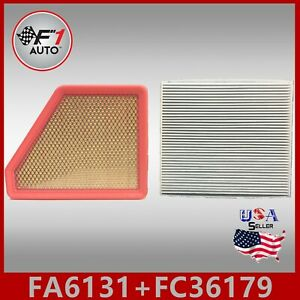 Auto1tech Engine Cabin Air Filter Combo For 2010 2017 Chevy Equinox 2 4l