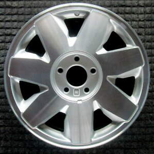 Cadillac Deville Machined 17 Inch Oem Wheel 2001 2002