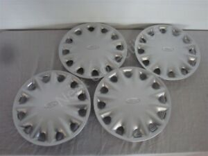 Nos Oem Ford Contour 14 Wheel 12 Spoke Wheel Cover 1995 99 Set Of 4 F5rz1130d