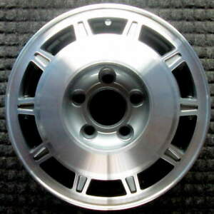 Cadillac Deville Machined 14 Inch Oem Wheel 1985 1988