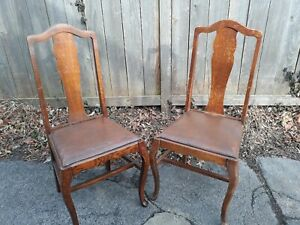 Vtg Antique 4 Farm House Chairs Local Pick Up Only