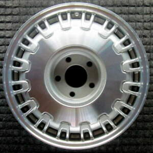 Cadillac Deville Machined 16 Inch Oem Wheel 1992 1999