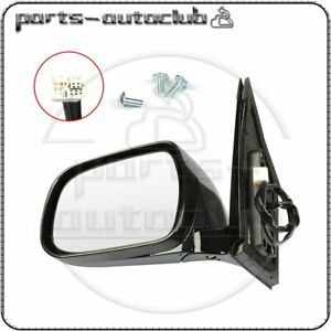 For 2004 2009 Lexus Rx330 rx350 rx400h Left Side Mirror Black Power Heated