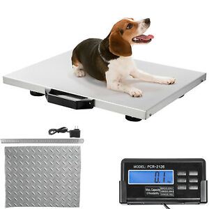 Livestock Vet Scale Dog Scales 400lbs 20 5x16 5 Animal Scale For Small Breed