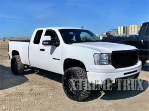 Black 07 13 Gmc Sierra 1500 Mesh Grille Bolt On