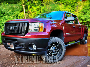 Black Paintable 07 13 Gmc Sierra 1500 Denali Mesh Grille