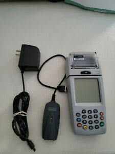 Nurit 8000s Wireless Portable Palm Credit Card Terminal With Power