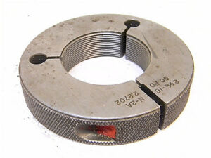 Used Pipe Machinery Co Thread Ring Gage 2 5 16 X 16 N 2a go P d 2 2702