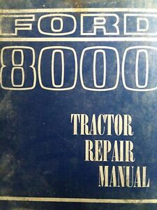 Ford 8000 9000 8600 9600 Farm Tractor Major Overhaul Repair Service Manual