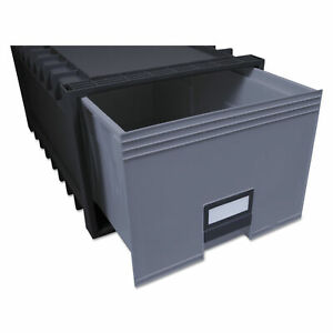 Storex Archive Storage Drawers Letter legal Files 15 25 X 24 X 11 5 Black