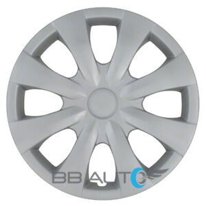 New 15 Inch Silver Hubcap Wheel Cover For 2009 2013 Toyota Corolla