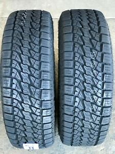 2 X New P255 70r16 Lionsport A t At All Terrain Tires 255 70 16 111t Bsw R16