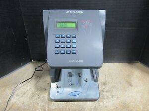 Schlage Hp 3000 Handpunch Ethernet Biometric Time Clock For Parts Or Repair