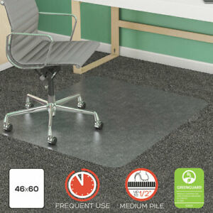 Supermat Frequent Use Chair Mat Med Pile Carpet Roll 46 X 60 Rectangle Clea