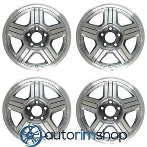 Chevrolet Gmc S15 Truck S10 Truck Sonoma 1996 2000 16 Oem Wheels Rims Full Set