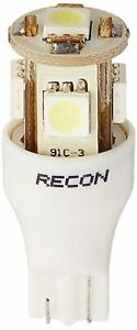 Recon 264202wh Led Bulbs Wedge Style In White 360 Degrees 2 Pc